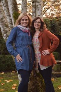 Emily Dempster and Julie Bernard